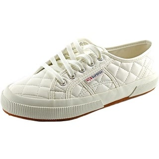 Superga Quiltedpuw Round Toe Synthetic Sneakers