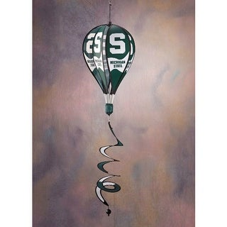 Bsi Products Inc Michigan State Spartans Hot Air Balloon Spinner Hot Air Balloon Spinner
