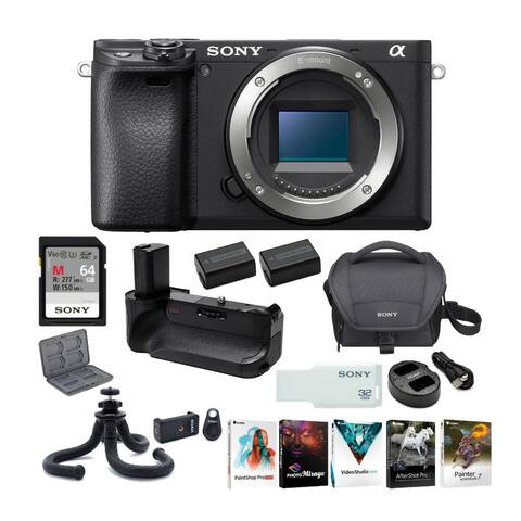 Sony a6400 Mirrorless Digital Camera (Body Only) Ultimate Bundle