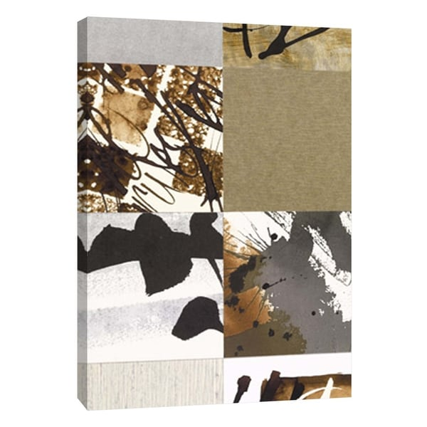 "PTM Images 9-108888 PTM Canvas Collection 10"" x 8"" - ""Collages A"" Giclee Abstract Art Print on Canvas"