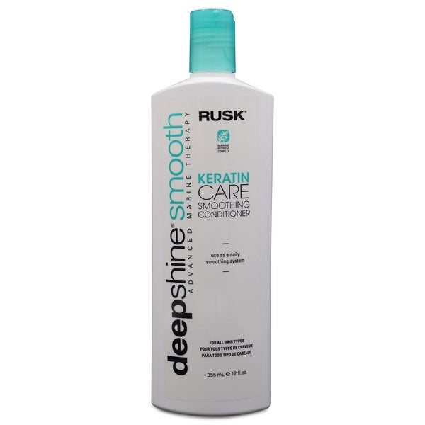 Rusk Deep Shine Smooth Keratin Care Smoothing Conditioner 12 fl Oz