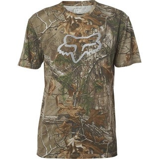 Fox Racing 2017 Men's Realtree Short Sleeve Premium Tee - 19488 - Camo (3 options available)
