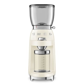 Link to Smeg 50's Retro Style Aesthetic Coffee Grinder, Cream Similar Items in Kitchen Appliances