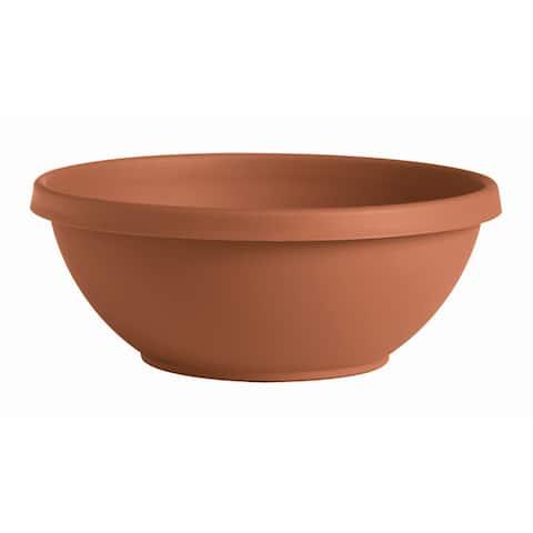 "Bloem Terra Plant Bowl Planter 14"" Terra Cotta - 14"