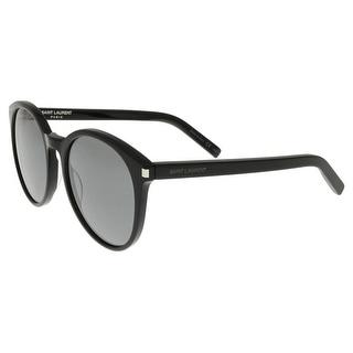 Saint Laurent SL CLASSIC 6-001 Black Round Sunglasses