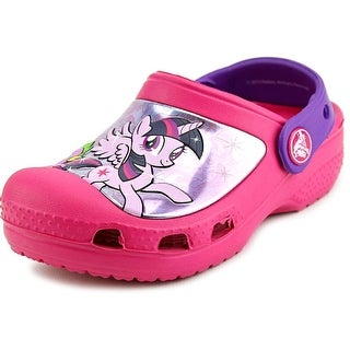 Crocs Creative Crocs My Little Pony Clog Toddler Round Toe Synthetic Pink Clogs