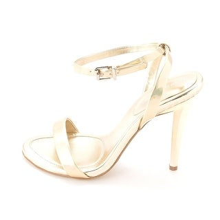 BCBGeneration Womens Rockie Open Toe Ankle Strap D-orsay Pumps