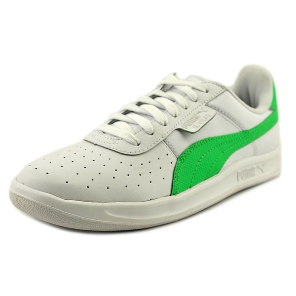 Puma G. Vilas 2 Women Round Toe Leather Green Sneakers