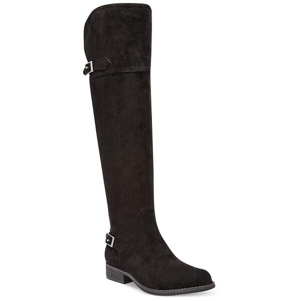 American Rag Womens Ada Closed Toe Knee High Fashion Boots, Black, Size 5.5