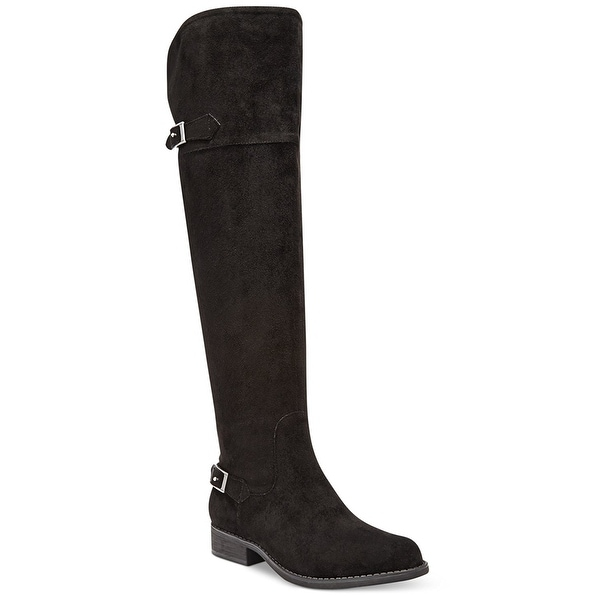 American Rag Womens Ada Closed Toe Knee High Fashion Boots, Black, Size 7.0