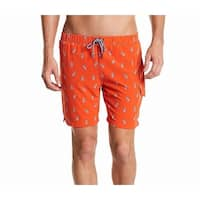 Sovereign Code Red Men Size Large L Pineapple Board Shorts Swimwear