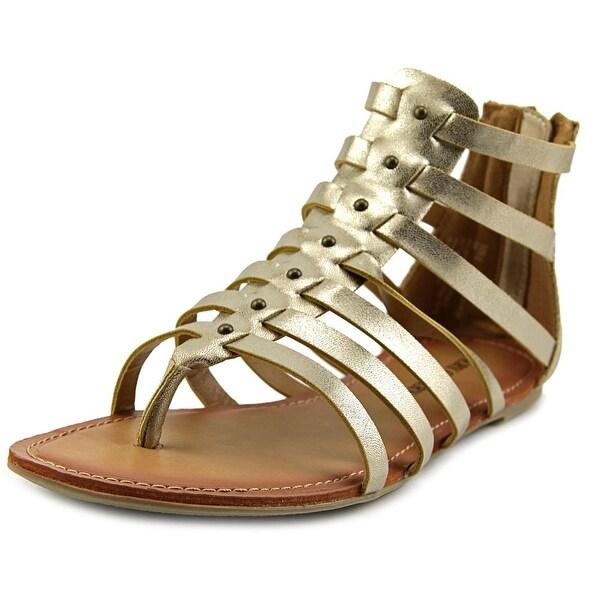 Very Cherry Gia Open Toe Synthetic Gladiator Sandal