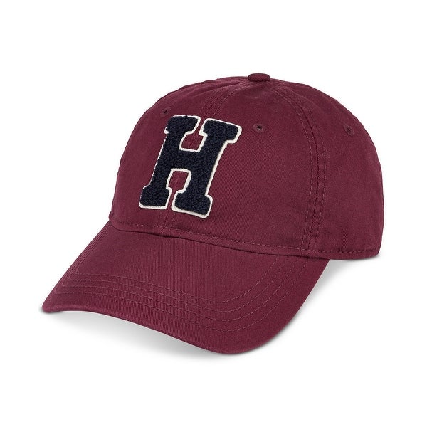f3415e8f9e7 Shop Tommy Hilfiger Red Mens One Size Adjustable Traditional Baseball Cap -  Free Shipping On Orders Over  45 - Overstock.com - 22468802