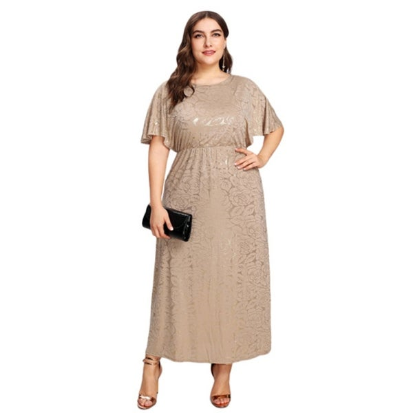 Shop Women\'s Plus Size Sequin Party Club Dress - Free Shipping On ...