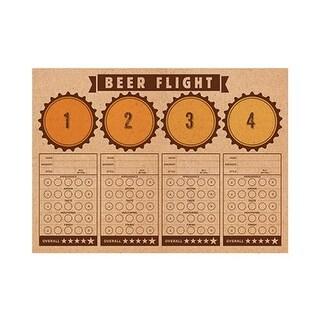 Group Cheers & Beers Placemat - Beer Flight, Pack of 12 - 24