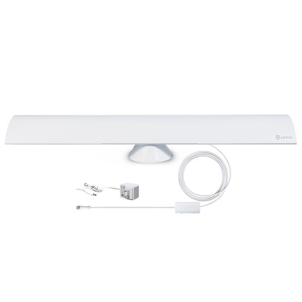 Ato At-215Bb Clearbar Indoor Hdtv Antenna, Smartpass Amplified