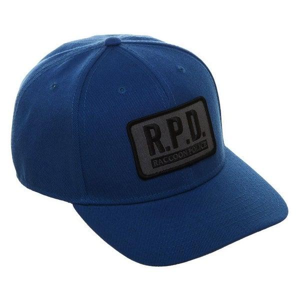 653b2225bf4eeb Shop Resident Evil R.P.D. Cosplay Pre-Curved Bill Snapback - Free ...