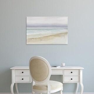 Easy Art Prints James Wiens's 'Serene Seaside' Premium Canvas Art