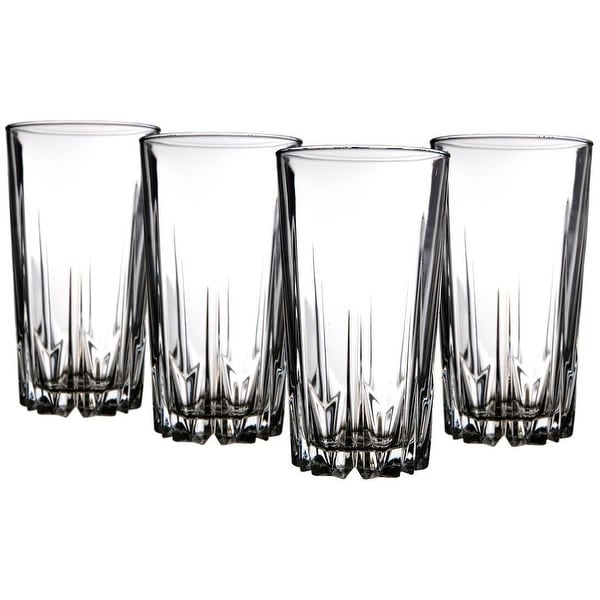 Palais Glassware 'Diamant' Collection; High Quality Diamond Cut Glass Set