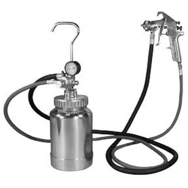 Shop Astro Pneumatic 2 Quart Pressure Pot With Silver Gun And Hose