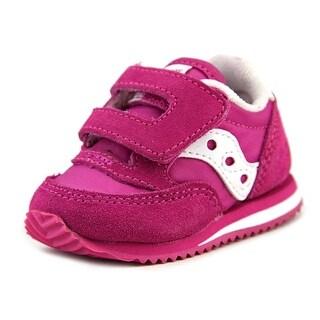 Saucony Baby Jazz Crib Round Toe Leather Sneakers