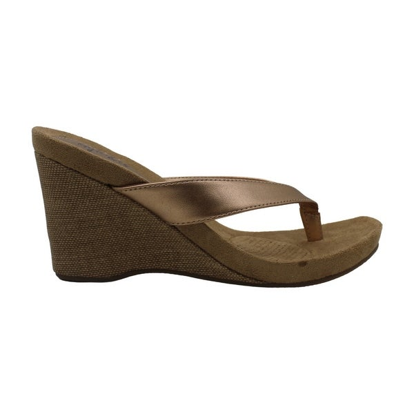Style & Co. Womens Chicklet Open Toe Casual Platform Sandals. Opens flyout.