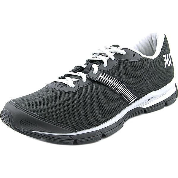 361 Chromoso Men Black/Silver Running Shoes