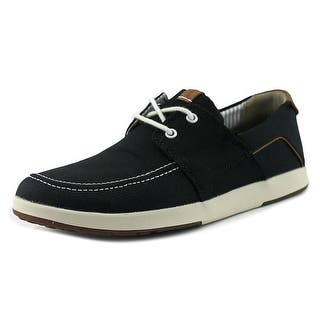 Clarks 1825 Norwin Go Men Moc Toe Canvas Black Boat Shoe|https://ak1.ostkcdn.com/images/products/is/images/direct/51877d793fae3de30b9a3c280dcce506d6b216d5/Clarks-1825-Norwin-Go-Men-Moc-Toe-Canvas-Black-Boat-Shoe.jpg?impolicy=medium