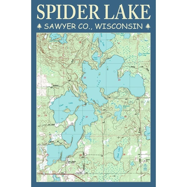 Spider-Lake-Chart---Sawyer-County%2C-Wis