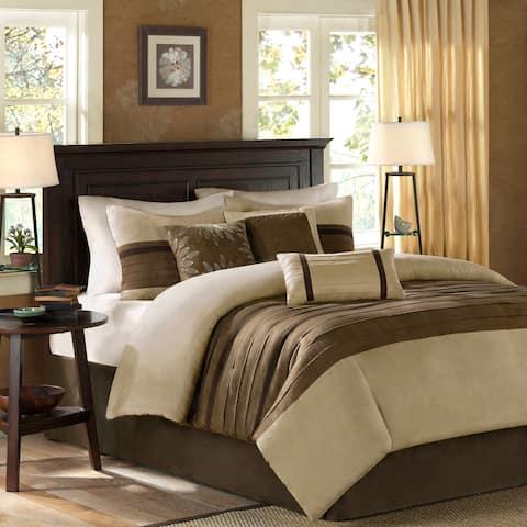 Madison Park Kennedy Natural Comforter Set