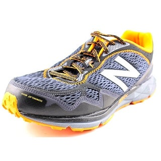 New Balance MT910 Men Round Toe Synthetic Black Running Shoe
