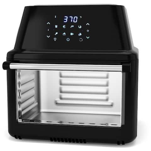 19 QT Multi-functional Air Fryer Oven 1800W Dehydrator Rotisserie
