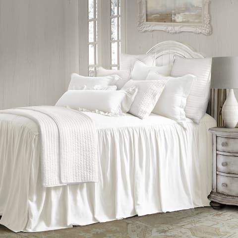 Luna Bedspread Set, White
