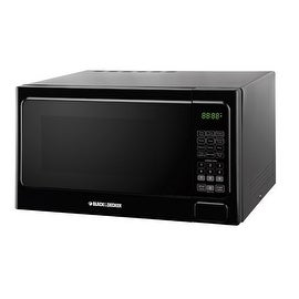 Black & Decker EM034AAA-X2 Microwave, 1.3 Cu.ft, Black