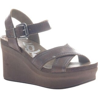 OTBT Women's Bee Cave Pewter Leather