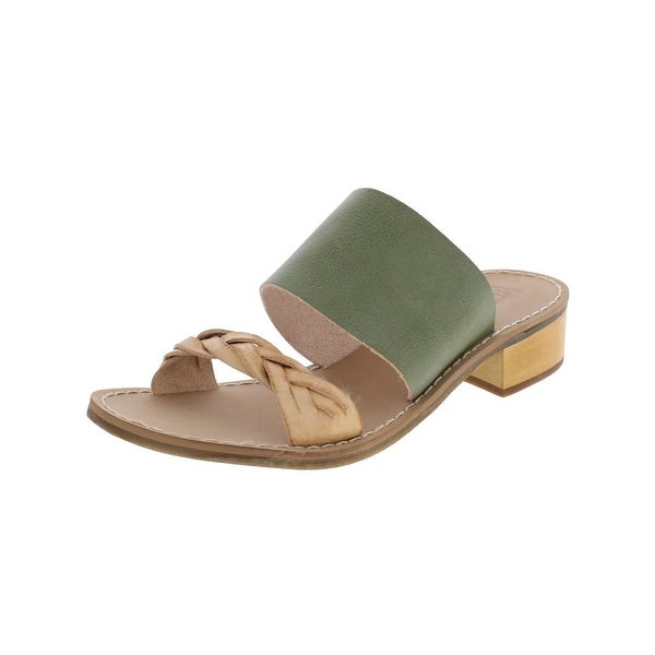Latigo Womens Tapas Slide Sandals Open Toe Colorblock