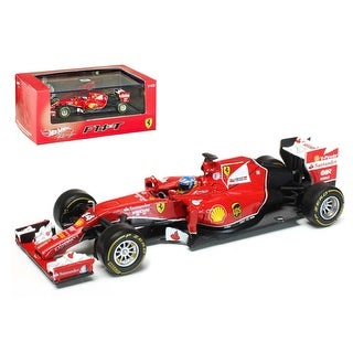2014 Ferrari F1 F14 T Formula 1 F2014 Fernando Alonso 1/43 Diecast Car Model by Hotwheels