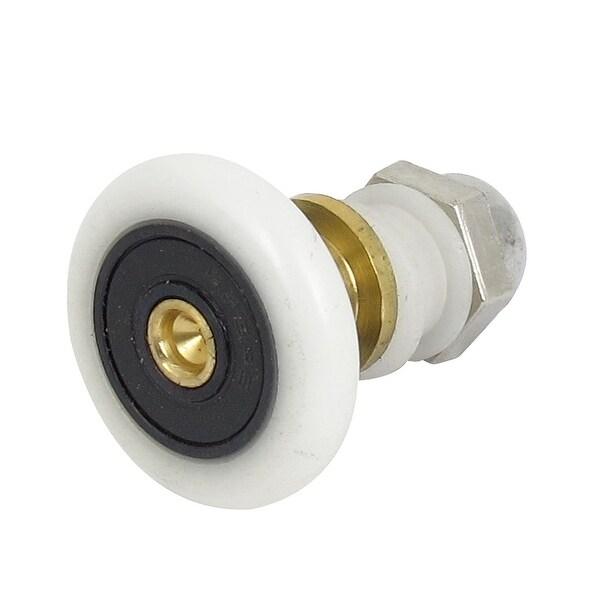 6mm Width Partiality Pulley Shower Door Single Wheel Roller Runner  sc 1 st  Overstock.com & 28mm Dia. 6mm Width Partiality Pulley Shower Door Single Wheel ...