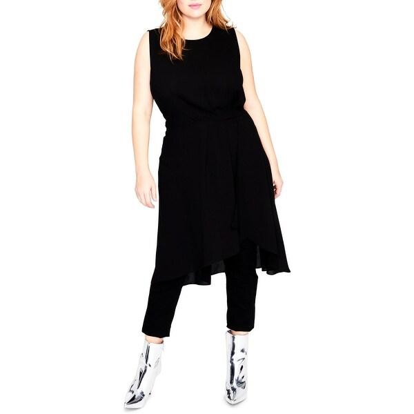 Shop Rachel Rachel Roy Womens Plus Tunic Dress Sleeveless
