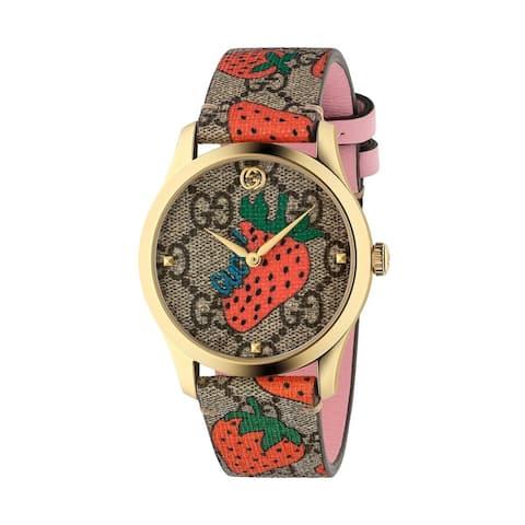 Monogram VC Femine ladies Gucci Timeless watch - One Size