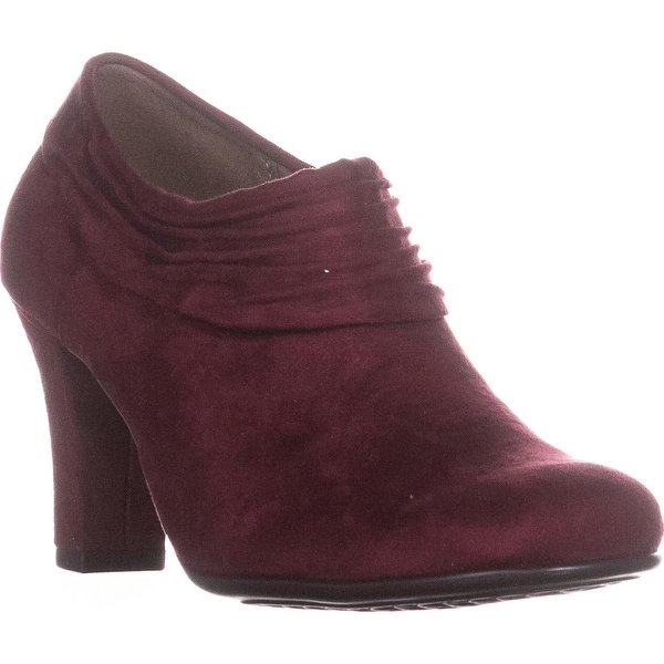 Aerosoles Starring Role Ankle Booties, Wine - 7.5 us
