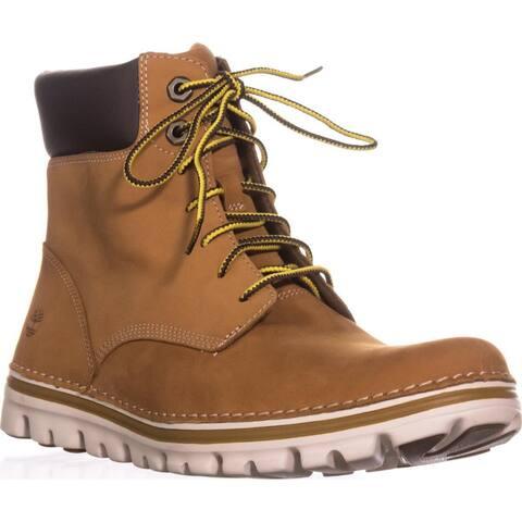 Timberland Brookton Lace Up Boots, Wheat