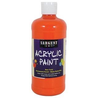 16Oz Acrylic Paint - Orange