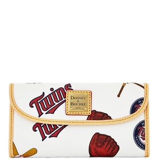 Dooney & Bourke MLB Twins Continental Clutch (Introduced by Dooney & Bourke at $128 in Feb 2014)