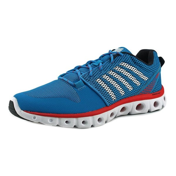 K-Swiss X Lite Men Methyl Blue/White/Fiery Red Sneakers Shoes