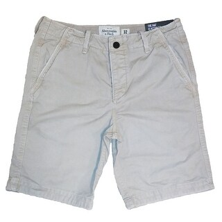 Abercrombie & Fitch NY The A&F Classic Fit At The Knee Cotton Shorts