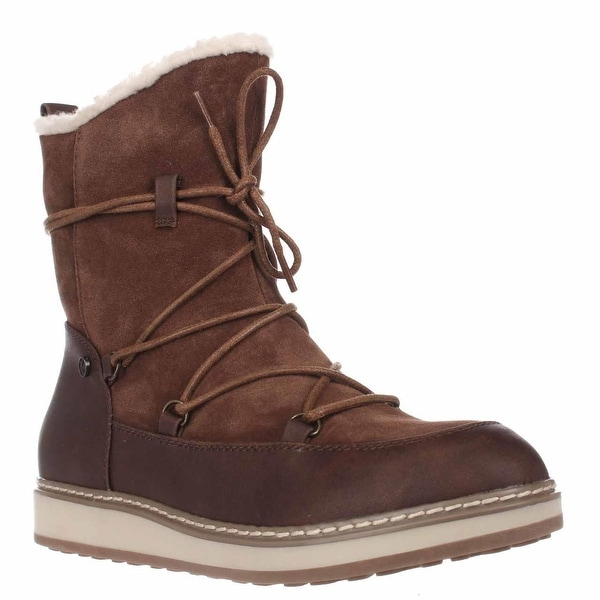White Mountain Topaz Fleece Lined Snow Boots, Hazel