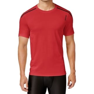 Reebok NEW Rio Red Mens Small S Short Sleeve Activchill Crew-Neck Shirt