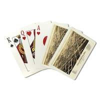Valdosta, Georgia - Panoramic Map (Poker Playing Cards Deck)
