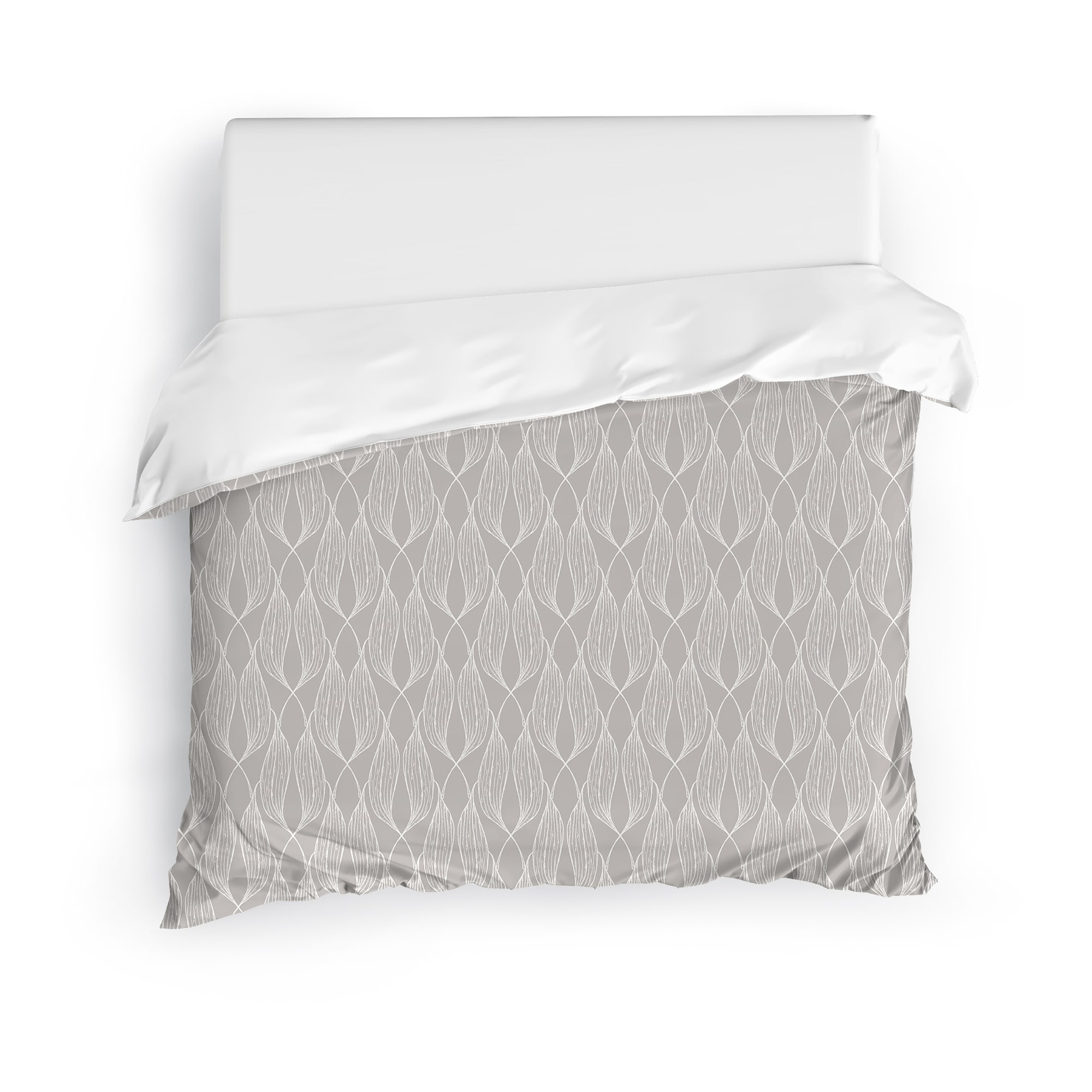 Alaina Light Grey Duvet Cover By Kavka Designs On Sale Overstock 30772791